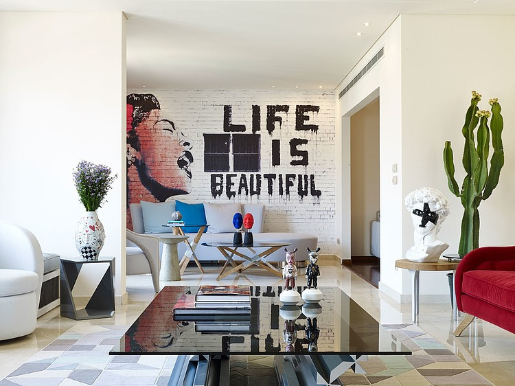 Home Tours : Eclectic Style