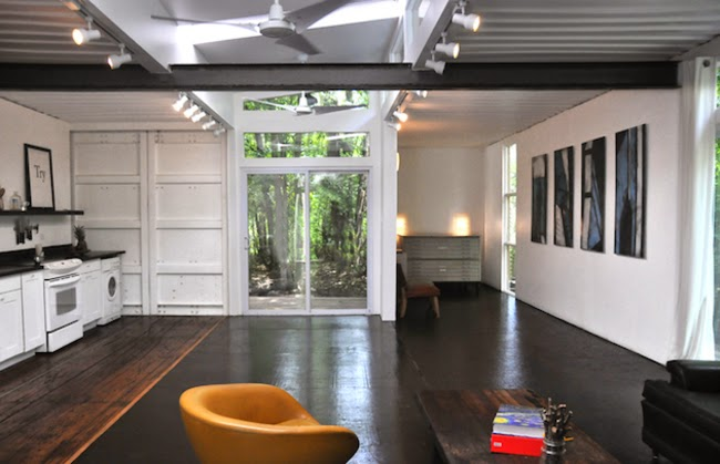 Home Tour : Shipping Container Style