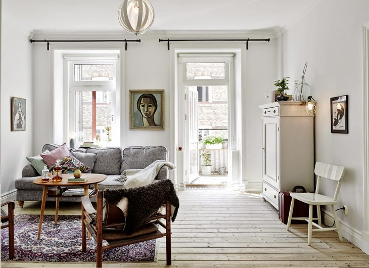 Home tour : Raw with Vintage