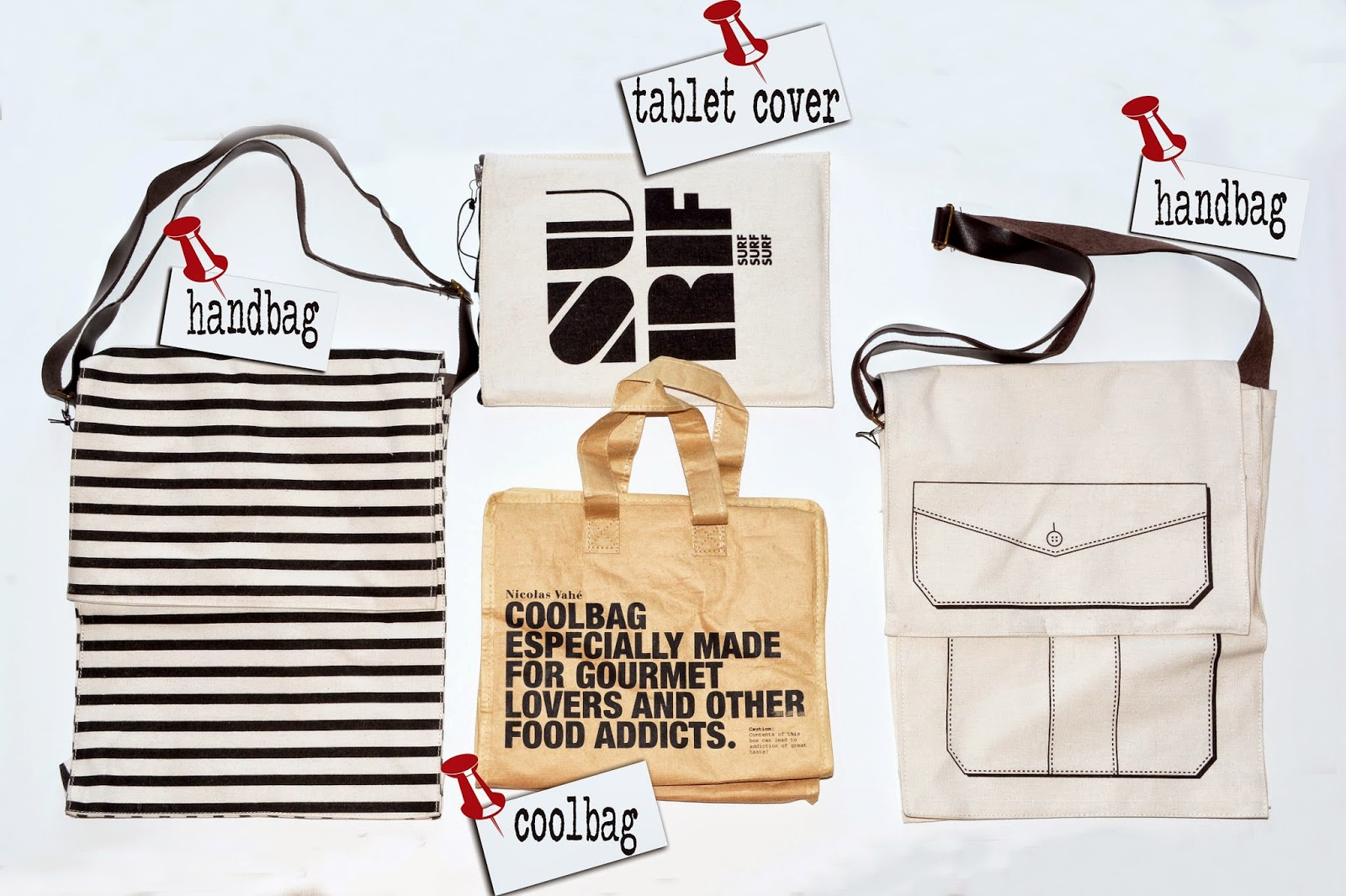 GIVEAWAY : Bags all around