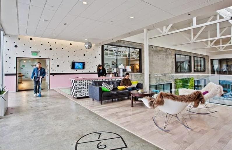 Creative Workspace : AirBnB Headquarters
