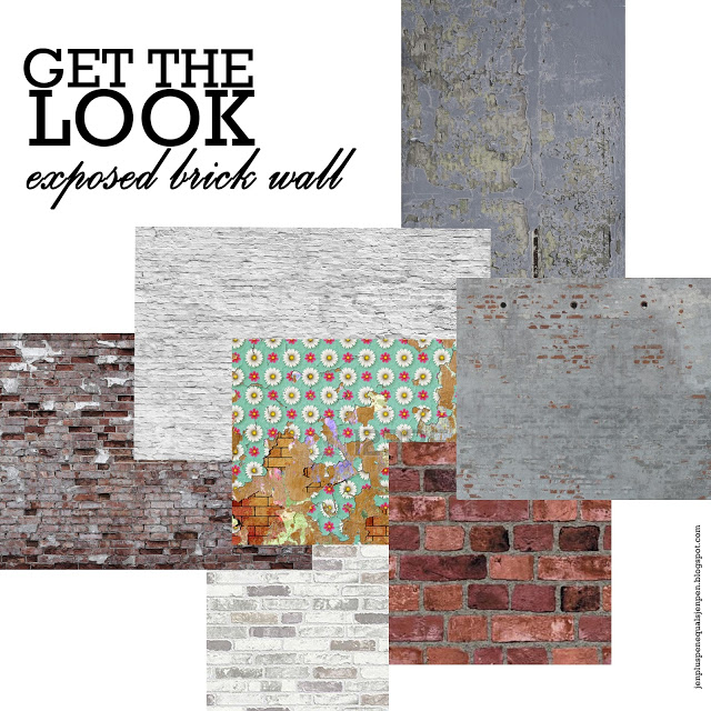 Get the Brick Wall Look