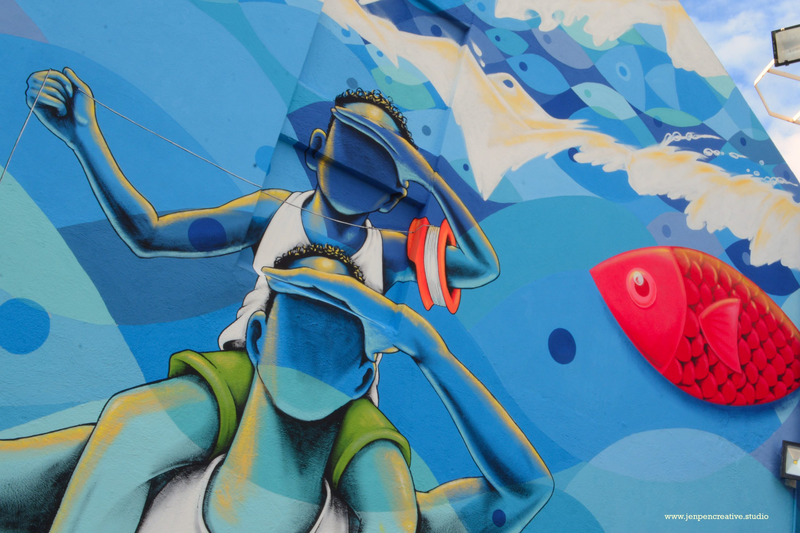 Street Art at its finest : Street Art Skalo