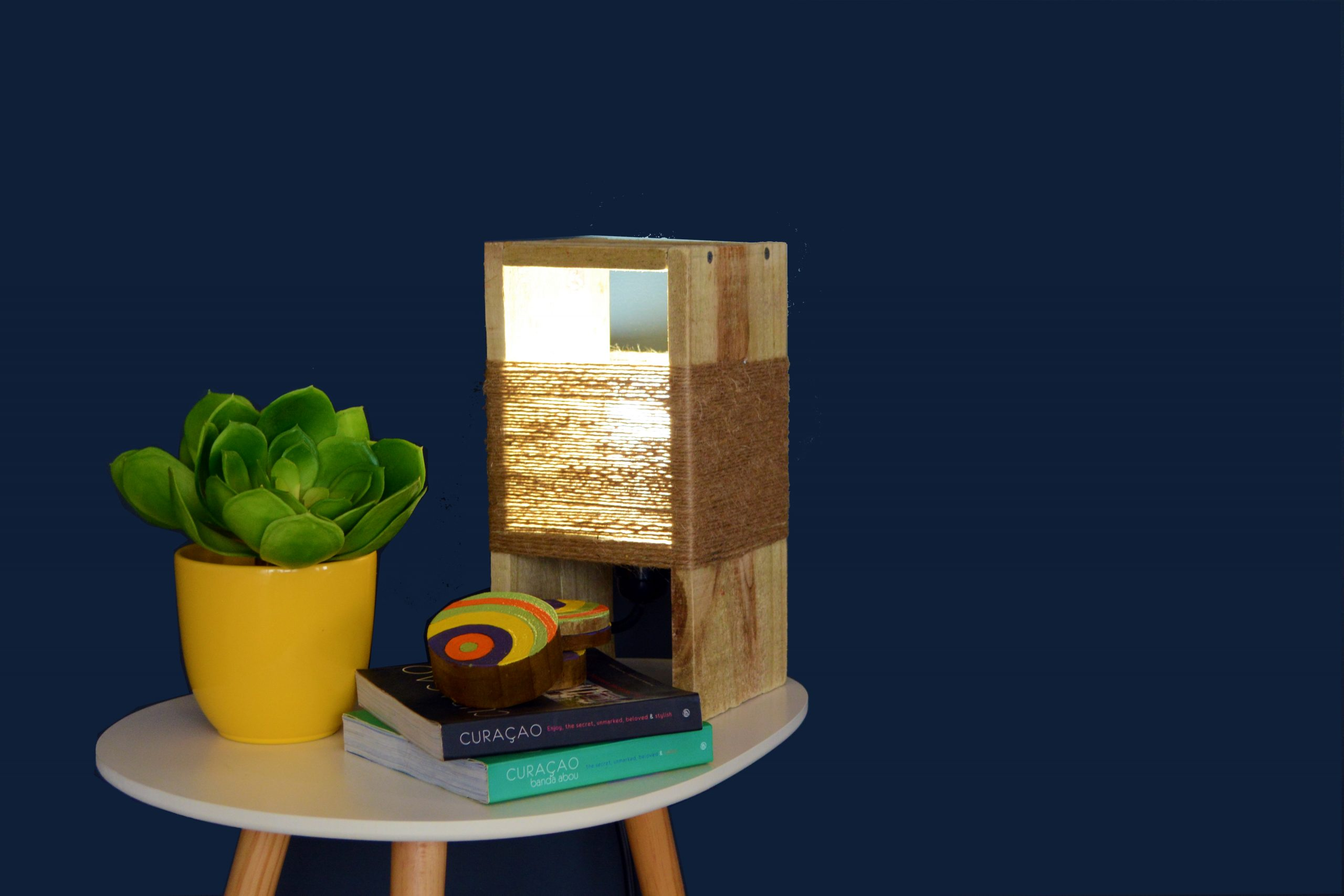 Creative Workshop : How to make a Wooden Table Lamp