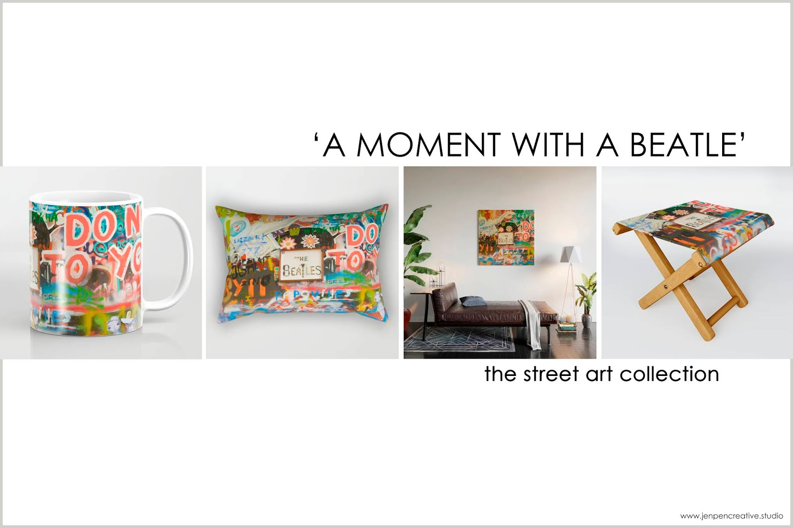 Home decor: The Street Art Collection