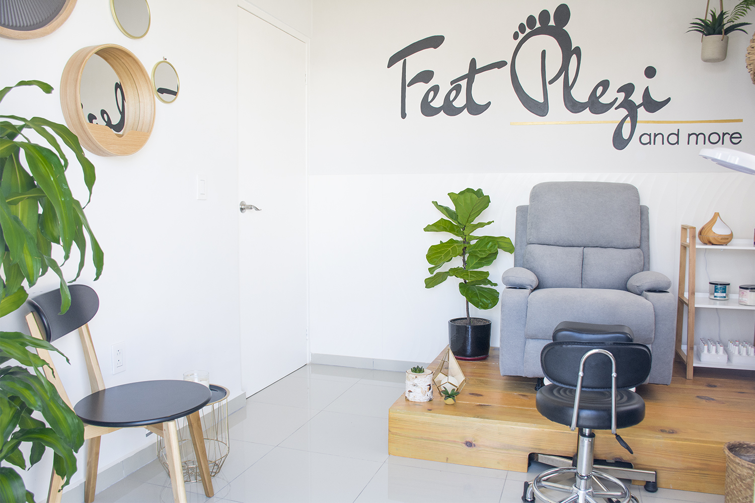Project 101: From guestroom to Pedicure Salon